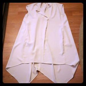 Rachel Rachel Roy Hi-Lo Cream Dress
